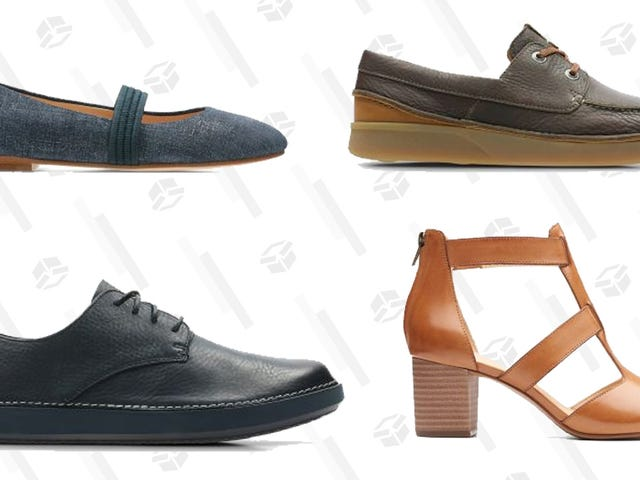 Spend $130 on New Clarks, Score 30% Off Your Order