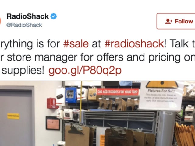 Good Deal Alert: RadioShack Is Selling Its Musty Old Clipboards for Only 50 Cents