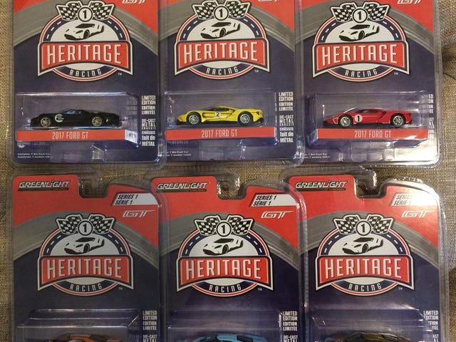 Finally!!  2017 Ford GT Heritage set
