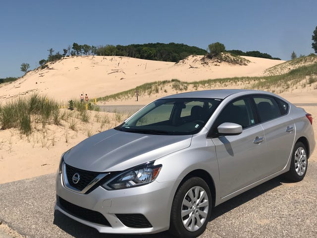 Crappy Car Reviews: One Week in a Rental-Spec Nissan Sentra