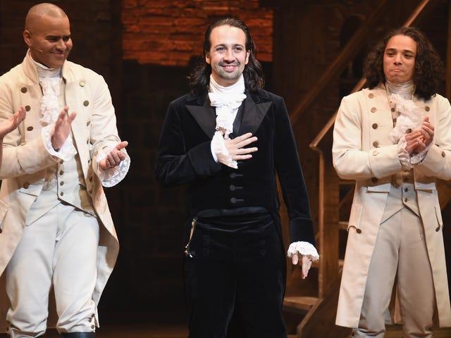 Lin-Manuel Miranda Will Return to Hamilton for Puerto Rico