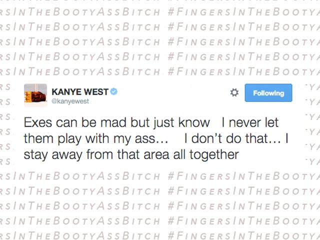 Kanye West για τα δάχτυλα του Amber Rose: «Ποτέ δεν τα αφήνω να παίζουν με το μουγκάκι μου»
