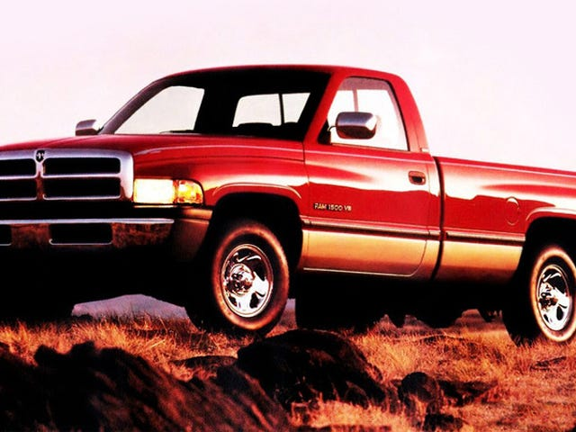 The Original Design For The Second-Gen Dodge Ram Was A Styling Disaster