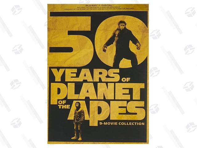 Own All Nine Planet of the Apes Movies For $35 On Blu-ray and Digital