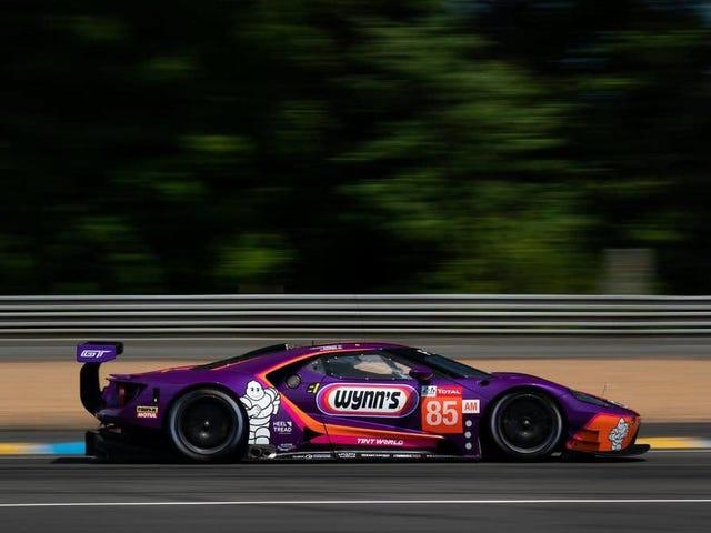Keating Motorsports Ford GT ได้รับชัยชนะจาก Le Mans Victory สำหรับการละเมิดเชื้อเพลิง