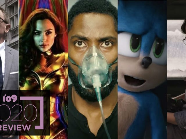 io9's Guide to All the Movies You Should Give a Damn About in 2020