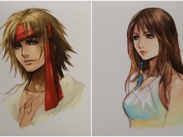 A Good Look At Official Post-Final Fantasy X-2 Character Art