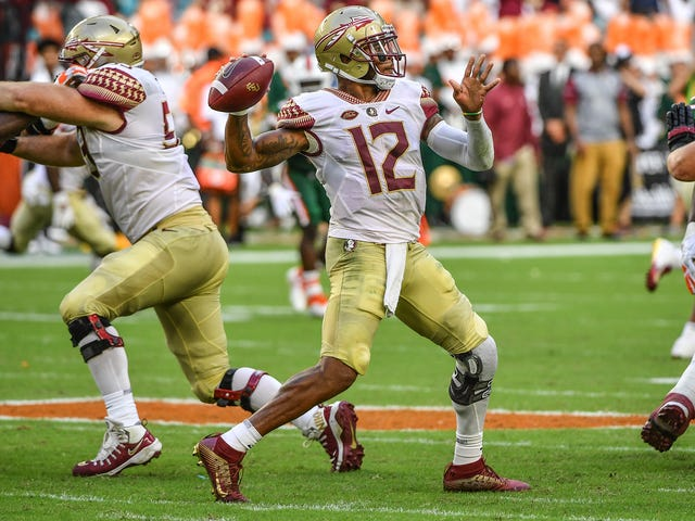 Florida State Cuts QB Deondre Francois After Woman Posts Audio Of Man Threatening To Beat Her