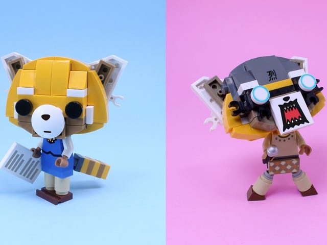 This Aggretsuko Lego Playset Turns the Existential Dread Lurking Inside All of Us Into Fun
