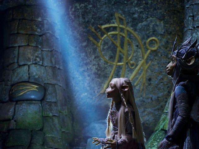 Dark Crystal: Age of Resistance to najdziwniejsza rzecz: porywający długi lalek