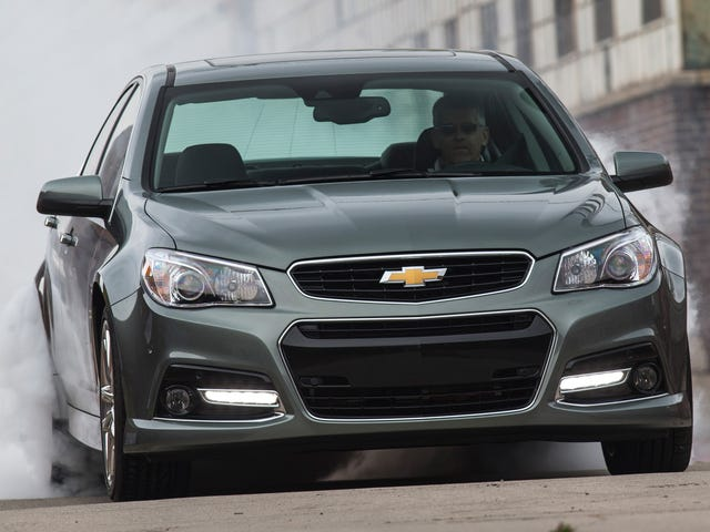 """Sensibility and practicality define the 2014 Chevrolet SS!"""