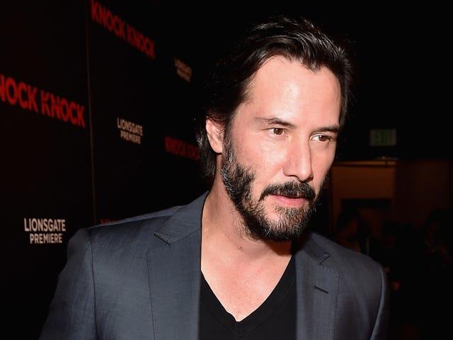 Keanu Reeves fatto nuovi amici dopo il suo volo ha fatto un atterraggio di emergenza