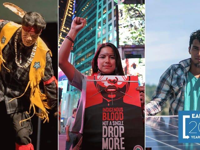 ¿Por qué los jóvenes indígenas fueron los guerreros climáticos de 2019?