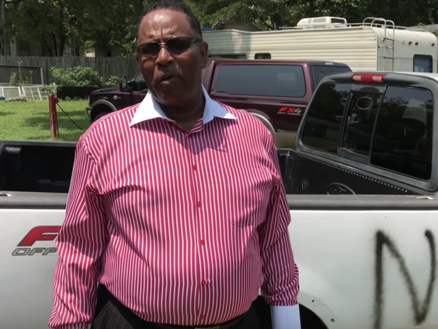 Alabama Pastor Says He's Going to Stand His Ground If Truck Is Vandalized With Racist Graffiti Again