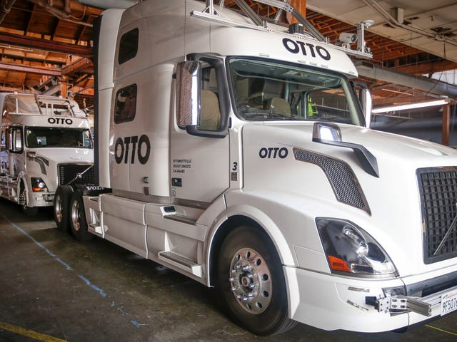 Uber's Legal Fight With Google Could Screw Its Self-Driving Truck Employees