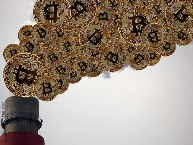 마이닝 Bitcoin은 실제 광산보다 에너지 드레인이 더 많을 수 있습니다.