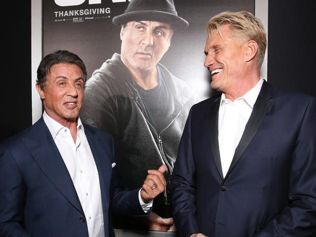Sylvester Stallone and Dolph Lundgren making TV pilot that's somehow not a wacky buddy sitcom