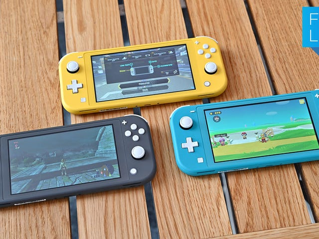 Switch Lite er sneaky god