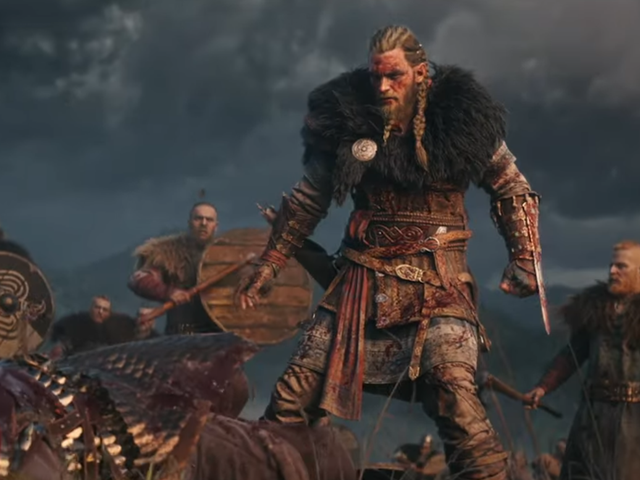 Assassin's Creed Valhalla trailer is pleased to report that, yes, Vikings can have wrist-blades, too