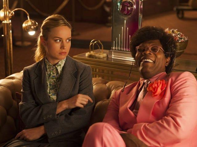 Samuel L. Jackson Gave Brie Larson on hieno <i>Star Wars</i> yllättää toukokuun neljännen