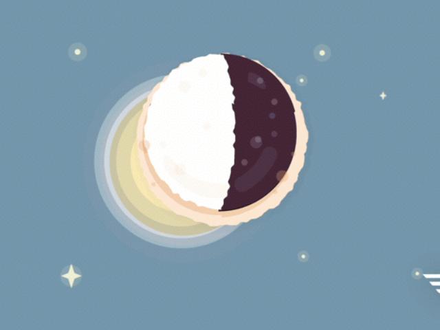 """DoorDash está dando gratis """"Half Moon Eclipse Cookies"""" en algunas ciudades que no están en el camino de la totalidad"""