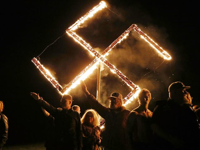 The Only Thing Missing From Georgia's Neo-Nazi Rally Was Actual Neo-Nazis