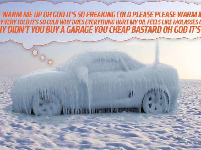 Exactement pourquoi vous devez réchauffer votre voiture quand il fait froid