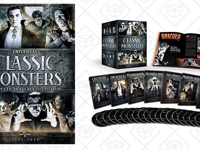 Get Spooked By This $50 30-DVD Classic Monster Collection