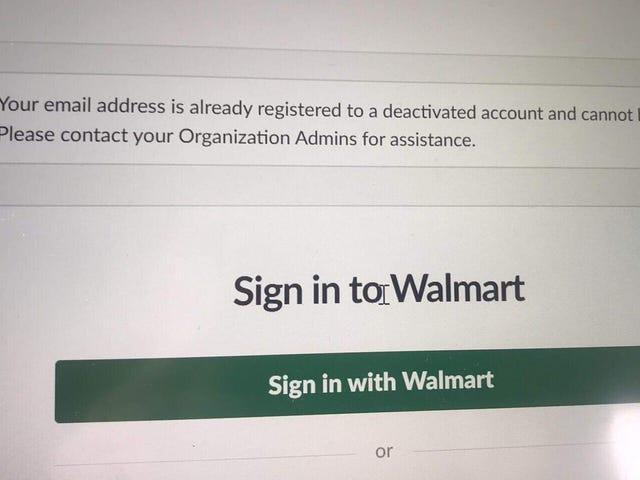 Η Walmart Retaliates εναντίον του εργαζομένου που προτρέπει τον υπάλληλο να περπατήσει πάνω από τις πωλήσεις όπλων