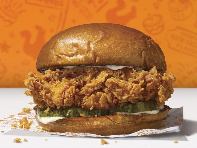 Pekerja Popeyes Dipecat untuk Membawa Anak untuk Bekerja untuk Membantu dengan Permintaan Sandwich Ayam