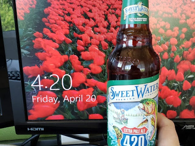 420 on 4/20 at 4:20. Am I doing this right?