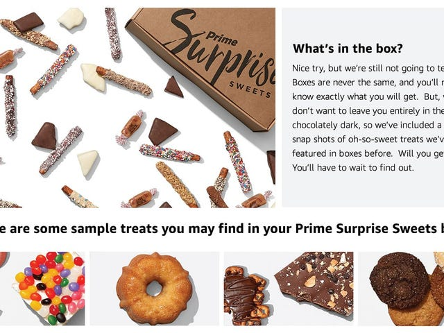 The Post-Valentine's Candy Discounts Begin With Amazon's Surprise Sweets Box