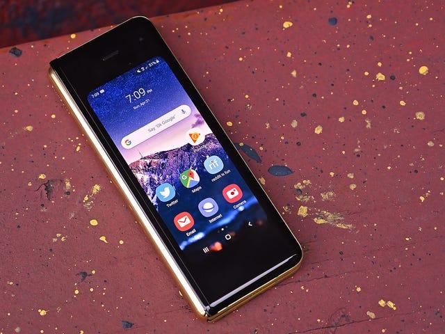 Samsung arbejder formodentlig på en meget køligere foldetelefon