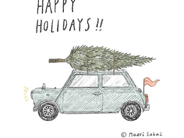Happy Holidays and may all your hubcaps remain secured
