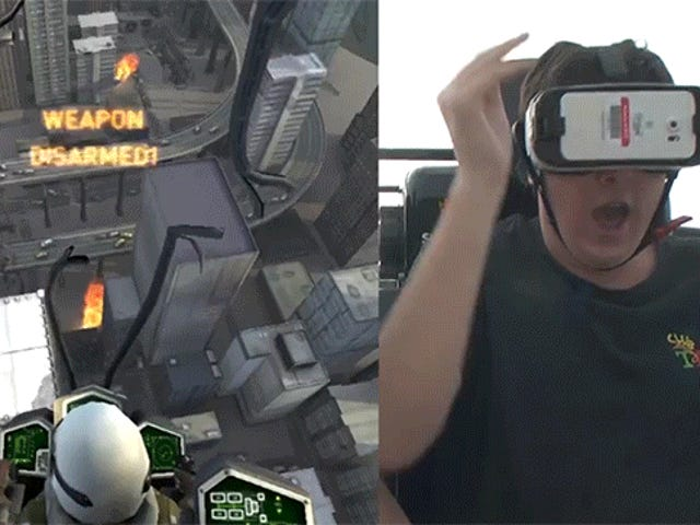 The New VR Coaster at Six Flags Is the Future of Vomiting
