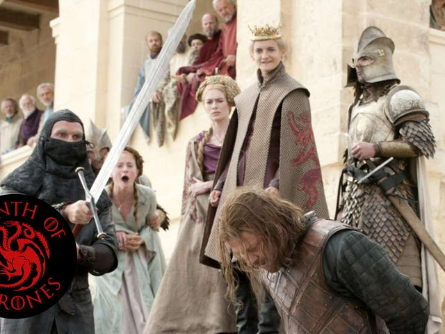 <i>Game Of Thrones</i>' shocking execution rewrote the rules of genre storytelling