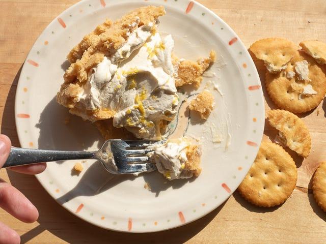 Utilisez des biscuits Ritz pour faire des croûtes à la tarte sans cuisson