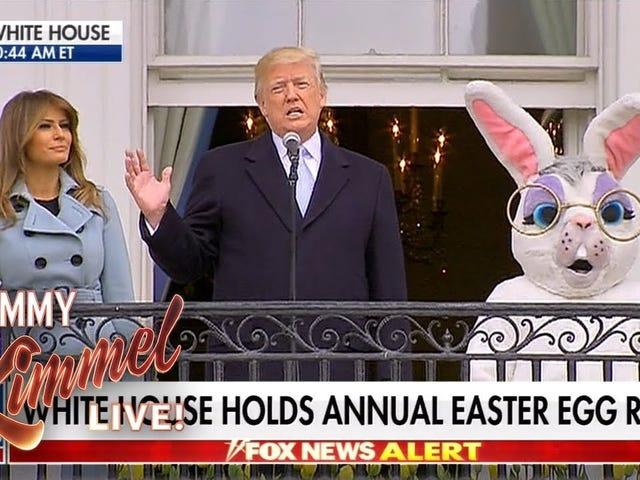 Jimmy Kimmel Calls for a Twitter Truce WithSean Hannity Over Melania Trump Joke
