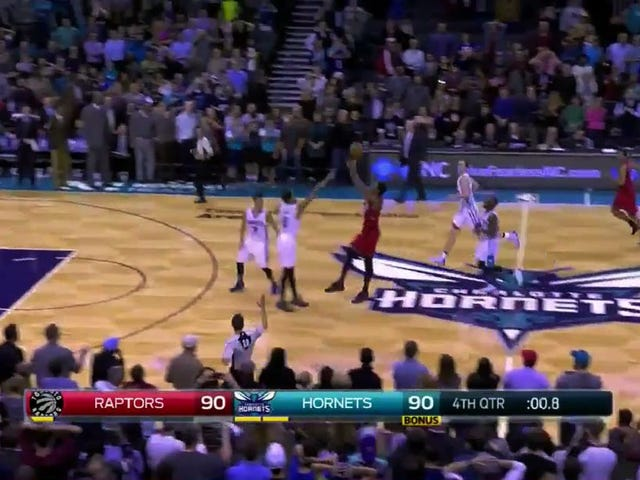 DeMar DeRozan's 40-Foot Game-Winner Wiped Out By Timeout