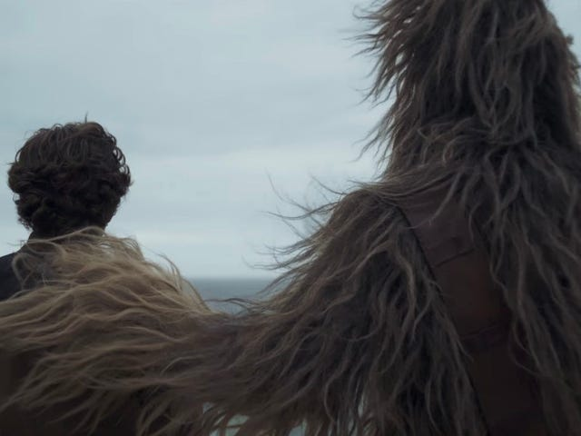There Is Now Official Footage From Solo: A Star Wars Story