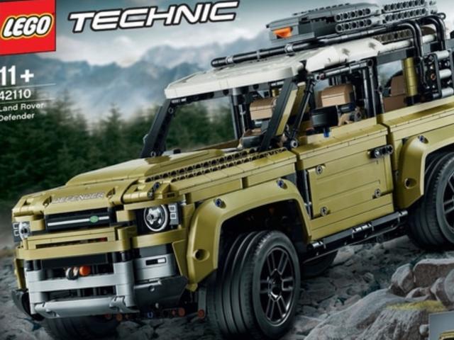 Конечно, похоже, что Lego пропустил двухдверный Land Rover Defender 2020 года