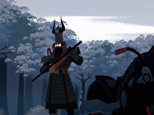 Samurai Jack está consiguiendo el conjunto impresionante, Extras-Packed completo de la caja que merece
