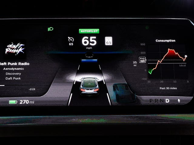 Tesla Reportedly Offered Its Autopilot Data To The Department of Transportation