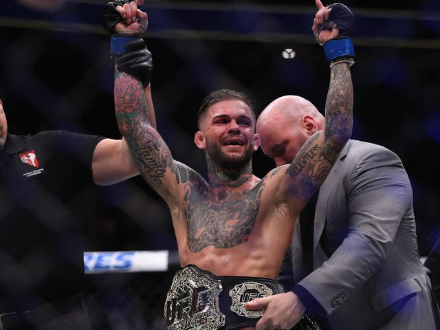 Cody Garbrandt Only Has Limp Excuses For His Rotten Old Tweets