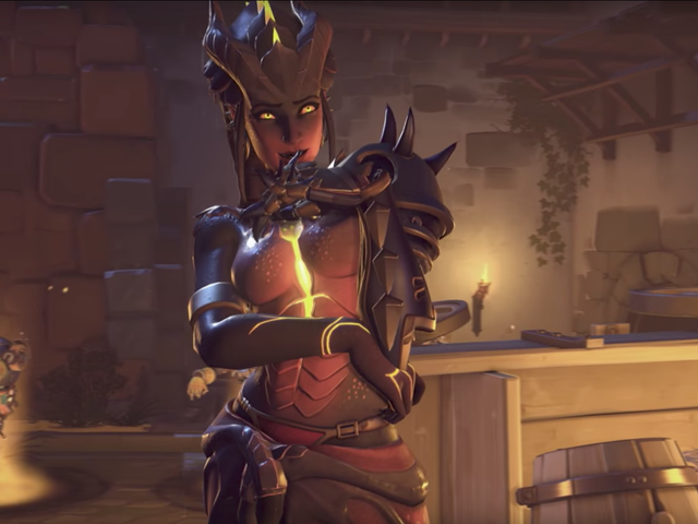 The Internet Reacts To Overwatch's Symmetra Halloween Skin