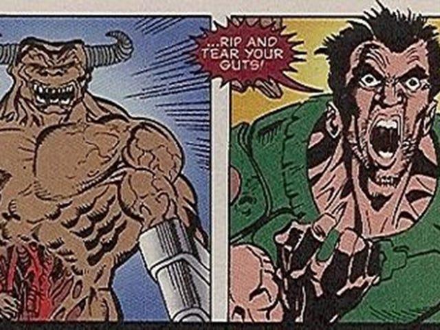 <i>Doom</i> 1996年からコミック本ミームへの参照を得ました
