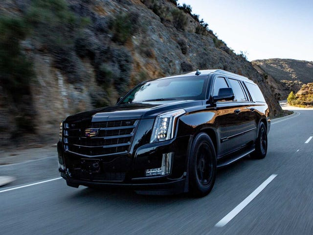 I'm Confused, Are You All Not Already Rolling Around in Armored Cadillac Escalades?