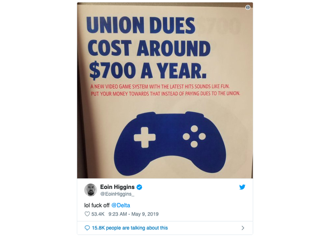 Delta Thinks Its Employees Are Morons