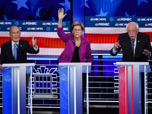 Debate Steel Cage Match: Elizabeth Warren Came to Slay, Michael Bloomberg Died Inside and Amy Klobuchar Almost Cried