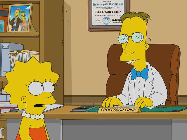Frink coins a cryptocurrency, but a heartfelt Simpsons mints an unexpectedly satisfying story